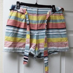 Loft shorts multicolored